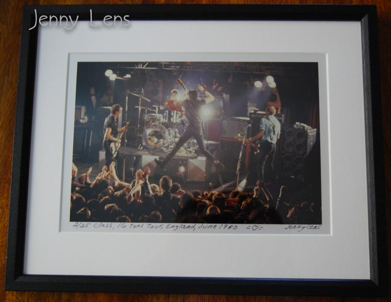 Clash, 16 Tons Tour, England, June 1980, Jenny Lens MFA