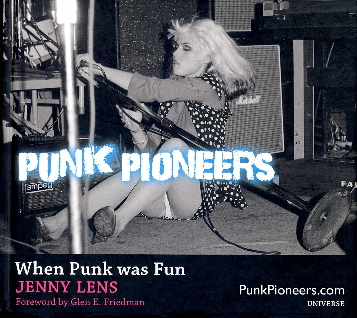 Punk Pioneers cover, Debbie Harry Blondie, Whisky, Feb 1977, Jenny Lens