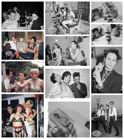 Screamers Roxy, Tomata du Plenty, Sheila Edwards, July 20 1979