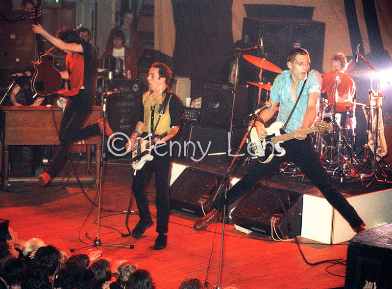 THE CLASH! 16 Tons Tour, England, June 1980. (c) Jenny Lens, MFA.