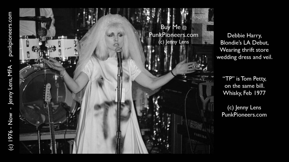 Blondie Bride, Debbie Harry, Feb 1977