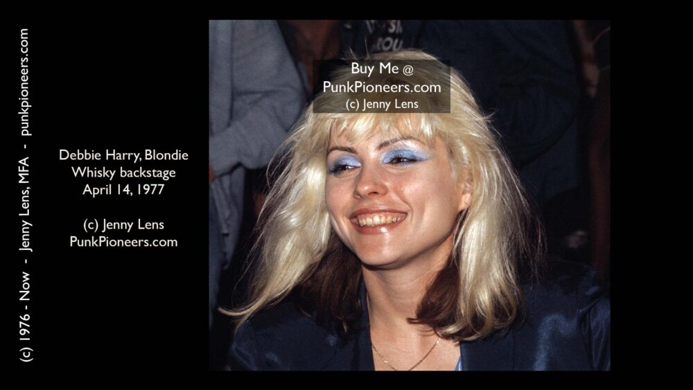 Blondie Smiling, Debbie Harry, April 14, 1977