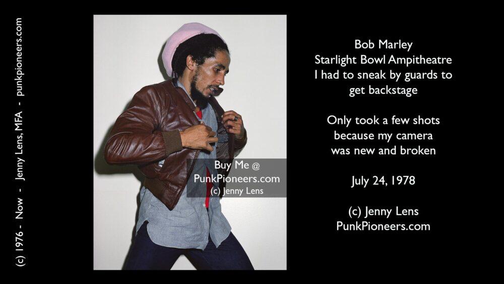 Bob Marley July 24, 1978