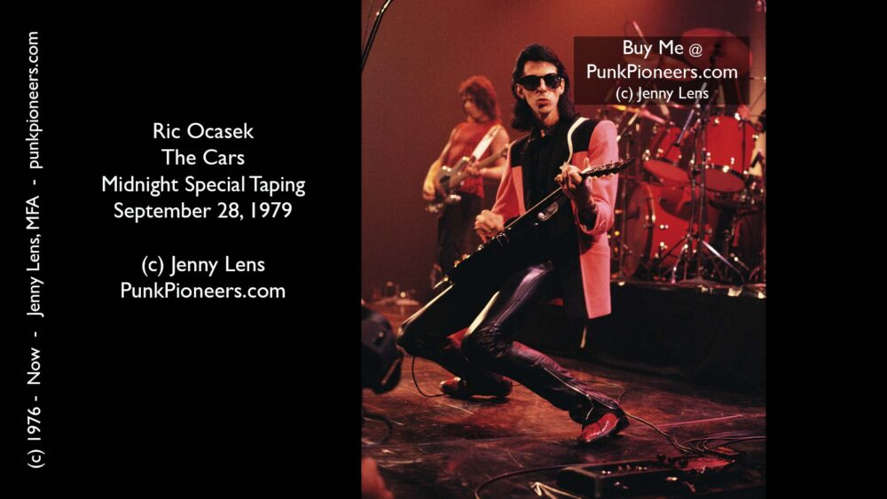 Cars, Ric Ocasek, Midnight Special Show Sept 28, 1979
