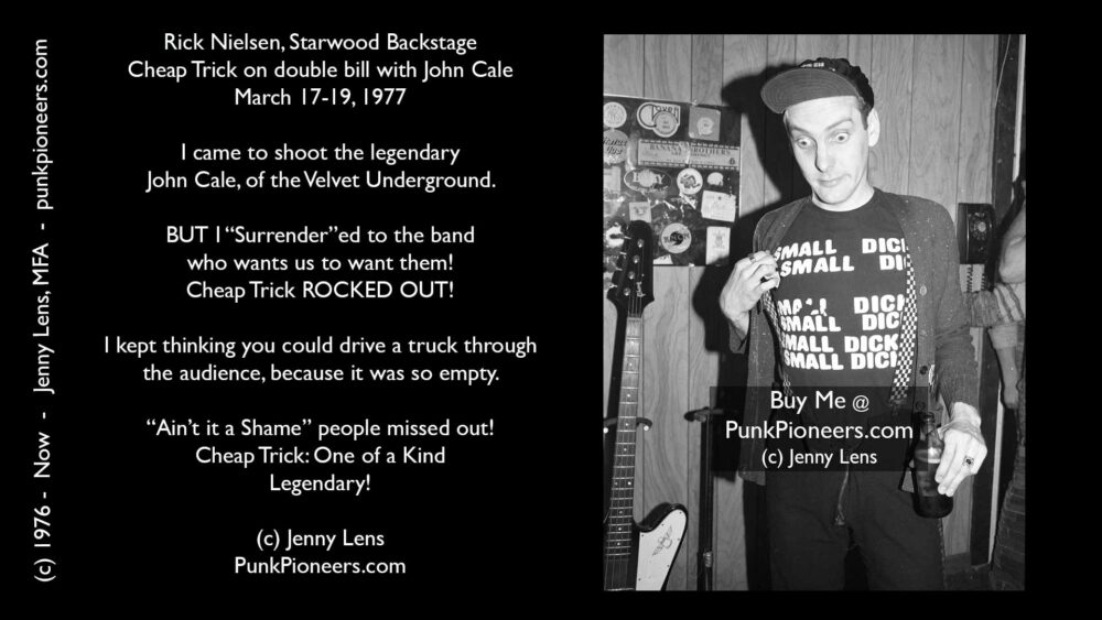 Cheap Trick, Starwood, March 17-19, 1977 (RickSWBS3-34)