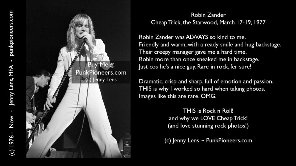 Cheap Trick, Starwood, March 17-19, 1977 (Robin6-27)