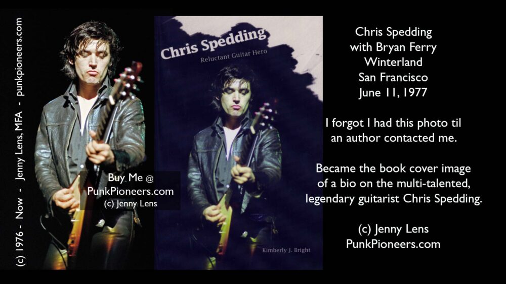 Chris Spedding, Winterland June 11, 1977