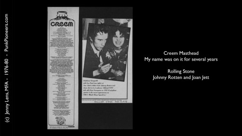 Creem Magazine and Photographer Jenny Lens