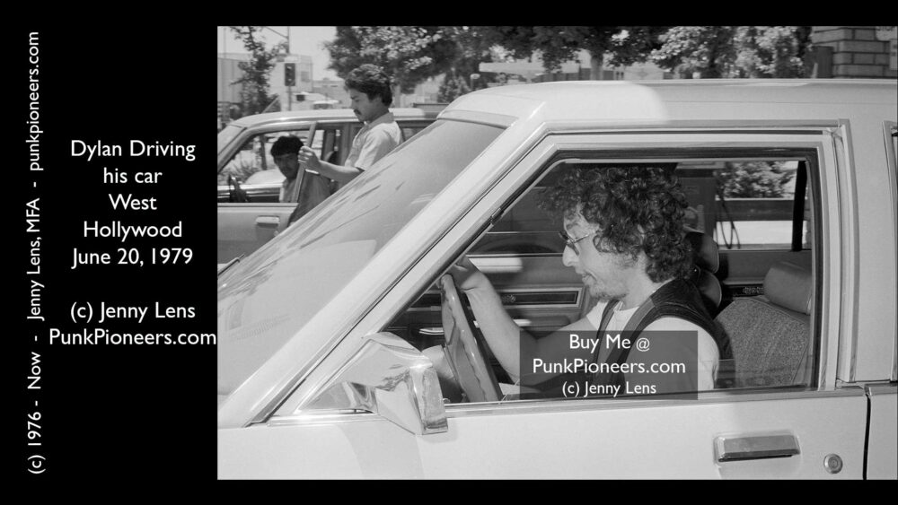 Dylan Driving Car June 20, 1979