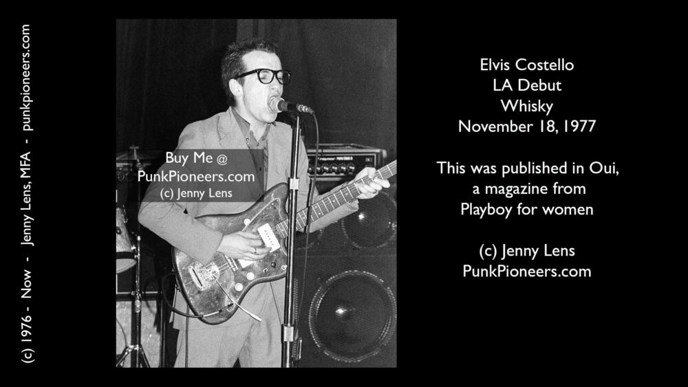 Elvis Costello, Whisky Nov 18, 1977