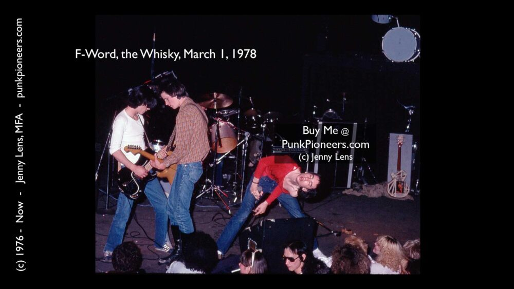 FWord, the Whisky, March 1, 1978 (1c)