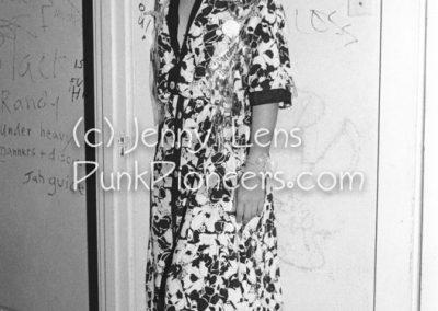 Jane Weidlin, pre-Go-Go's, Masque, Nov 23, 1977