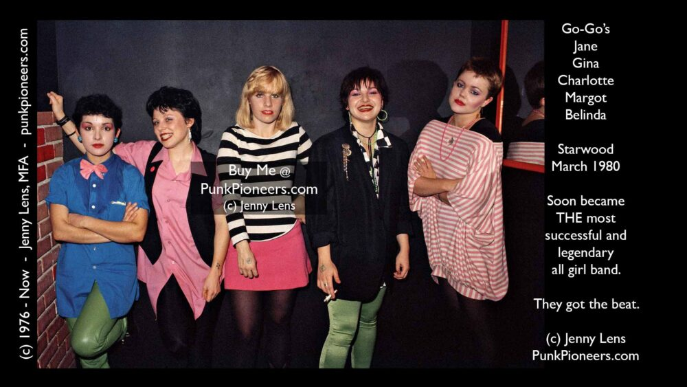 GoGos Pose Starwood March 1980