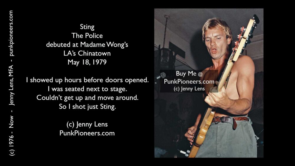Police, Sting, #2, Madame Wong's, May 18, 1979
