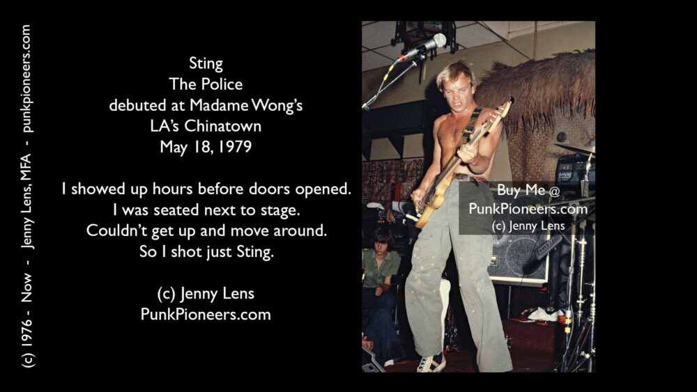 Police, Sting, #3, Madame Wong's, May 18, 1979