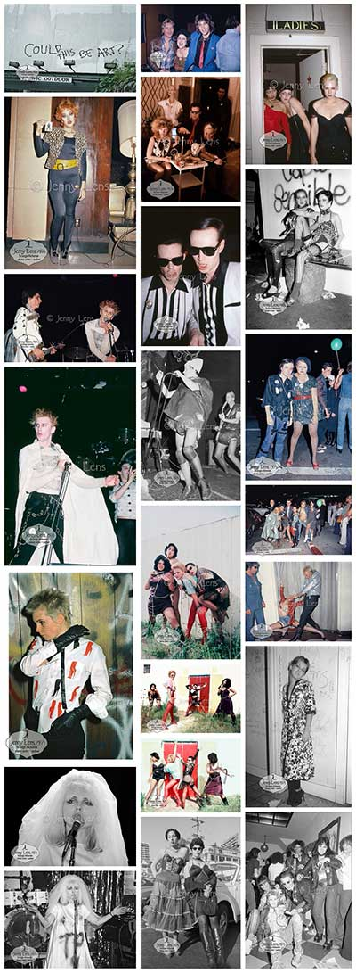 Punk Fashion Collage #1