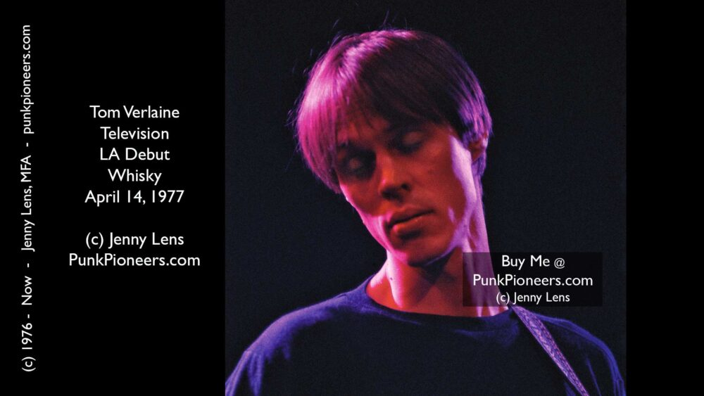 Television, Tom Verlaine, Whisky April 14, 1977