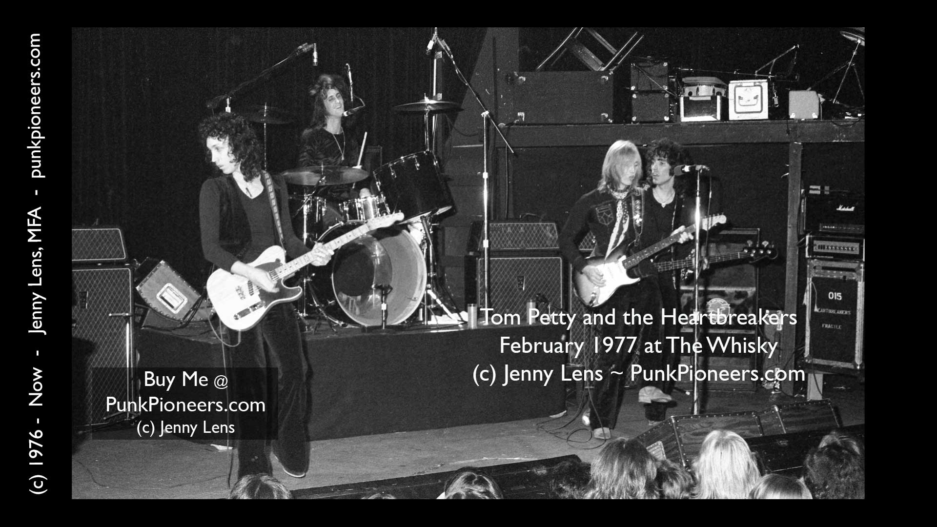 Tom Petty And Heartbreakers The Whisky February 1977 1 1g