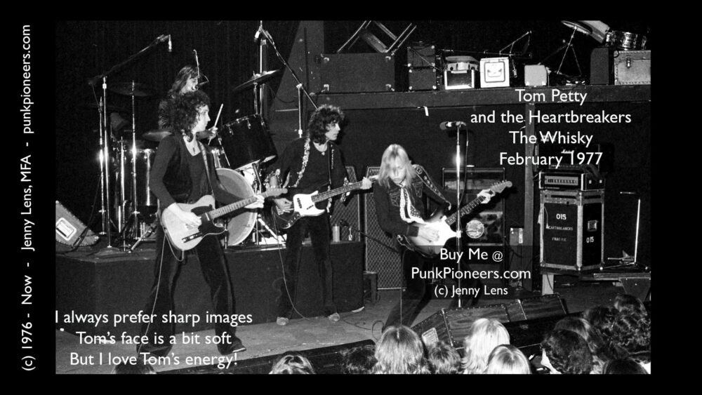 Tom Petty and Heartbreakers, the Whisky, February 1977 (1-44g)
