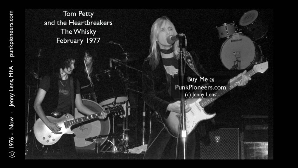 Tom Petty and Heartbreakers, the Whisky, February 1977 (2-5g)