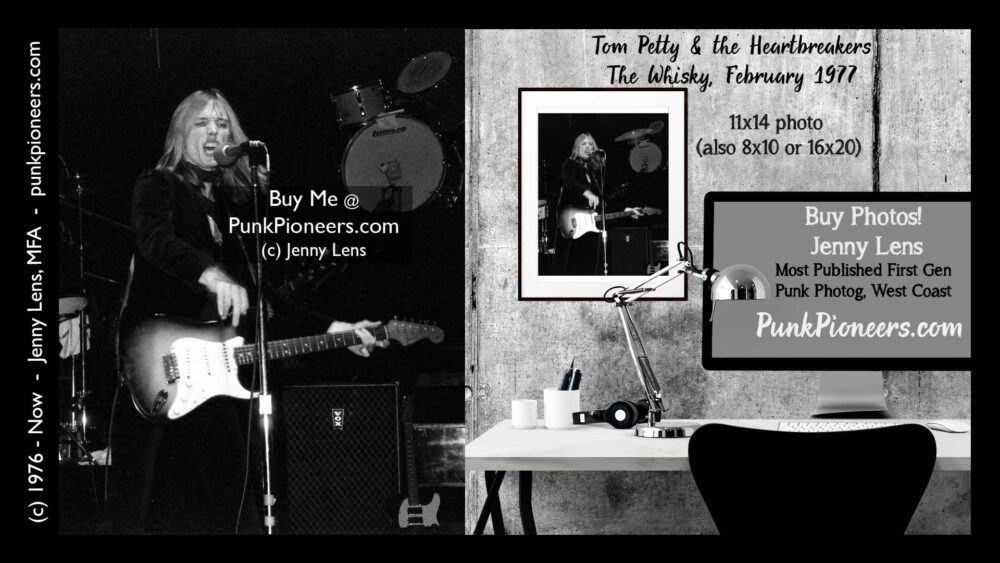 Tom Petty 1, the Whisky, February 1977 (2-7)