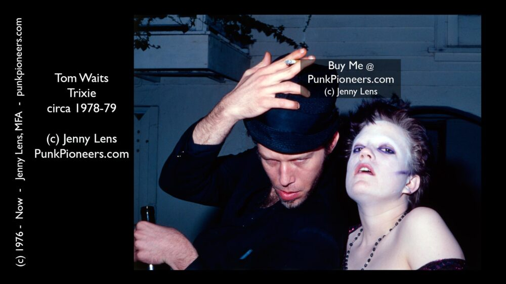 Tom Waits and Trixie July 1979